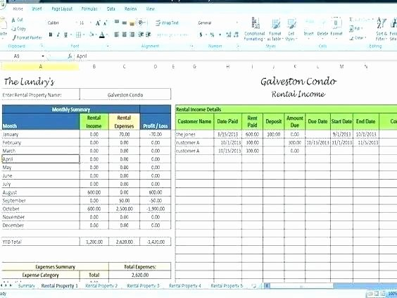 Property Management Excel Template Unique Real Estate Client Tracking Spreadsheet Best Excel