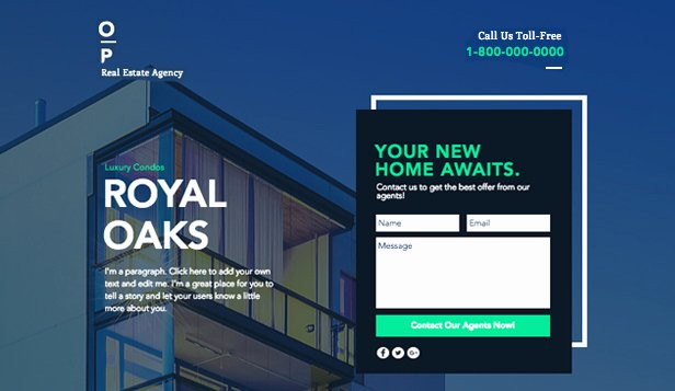 Property Management Web Template Awesome Real Estate Website Templates Business