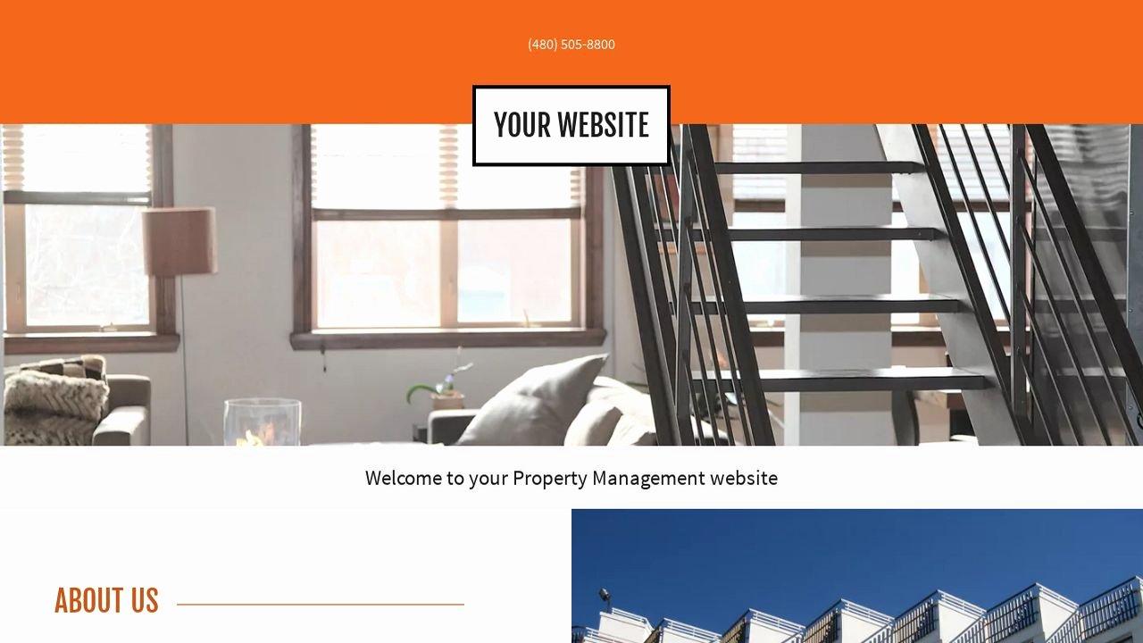 Property Management Web Template Beautiful Property Management Website Templates
