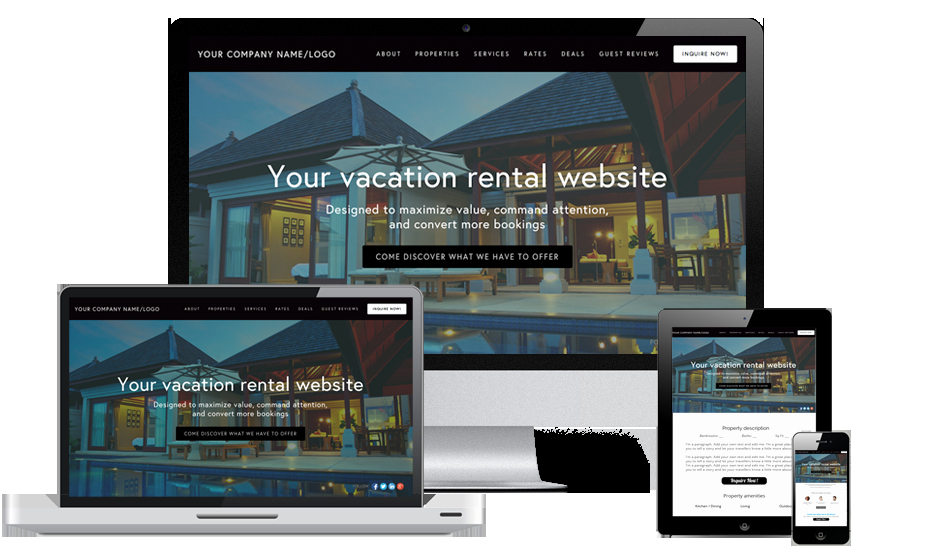 Property Management Web Template Fresh top 10 Best Vacation Rental Website Templates
