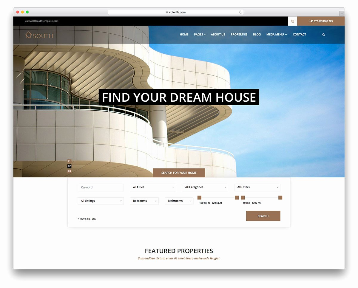 Property Management Web Template Inspirational 30 Beautiful & Clean Church Wordpress themes 2018 Colorlib
