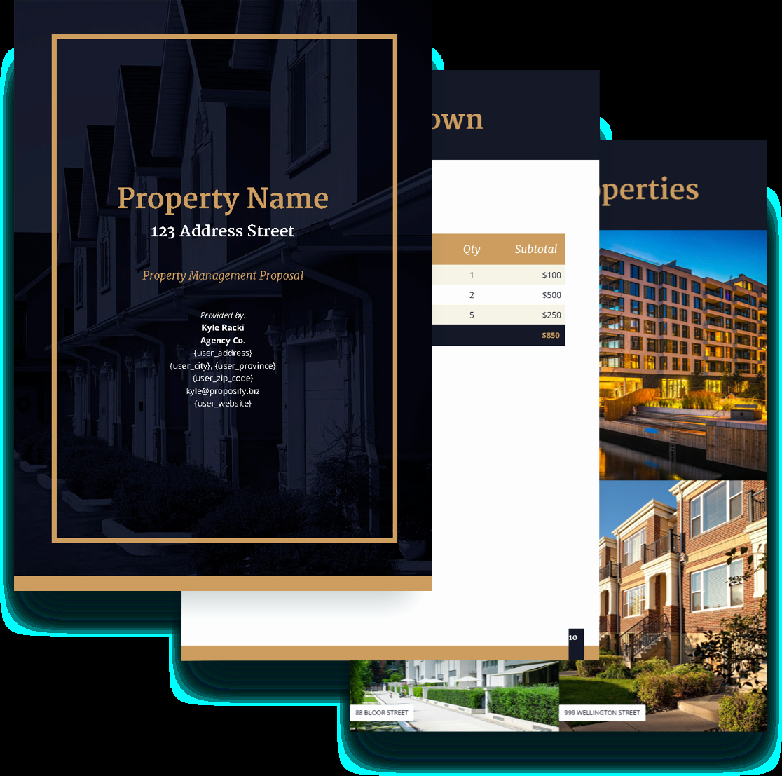 Property Management Web Template Inspirational Property Management Proposal Template Free Sample