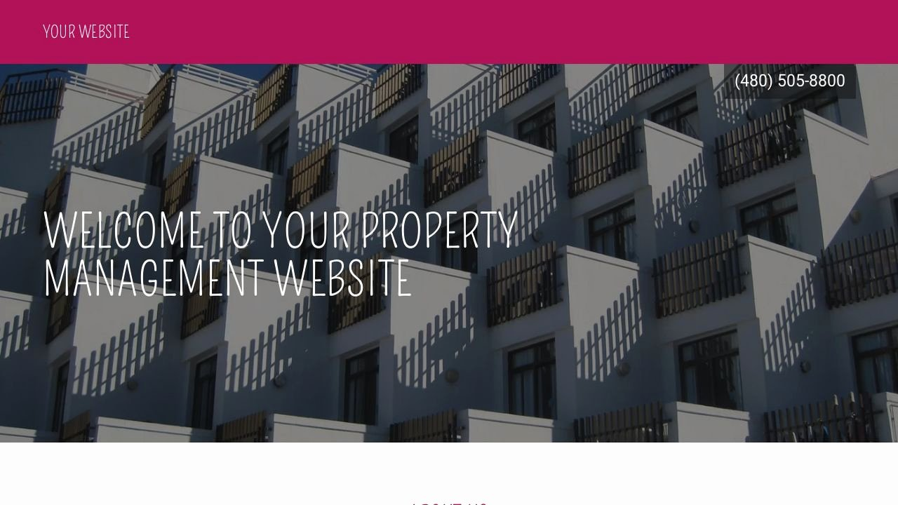 Property Management Web Template Lovely Property Management Website Templates