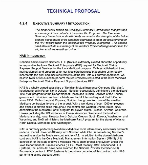 Proposal Executive Summary Template Luxury Rfp Response Executive Summary Template Olletter
