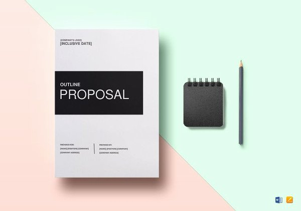Proposal Template Google Docs Awesome 14 Cleaning Proposal Templates Word Pdf
