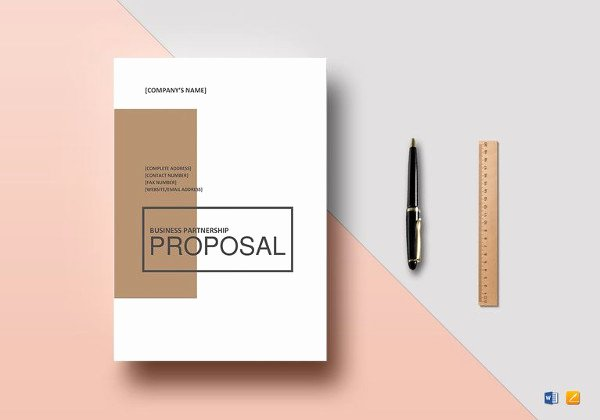 Proposal Template Google Docs Best Of 11 Partnership Proposal Templates Word Pdf Pages