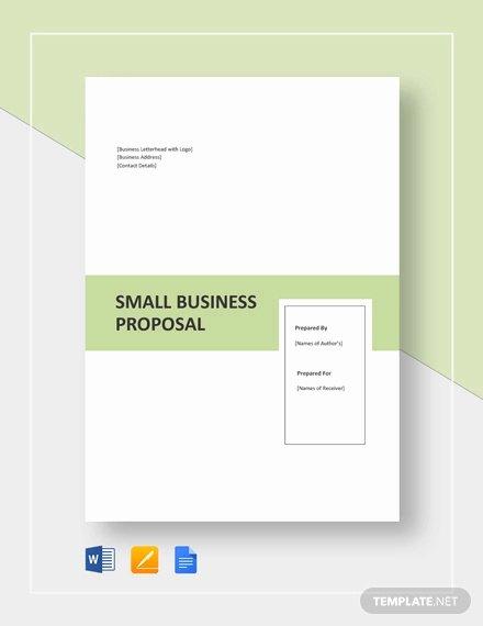 Proposal Template Google Docs New 24 Business Proposal format Templates Pdf Doc