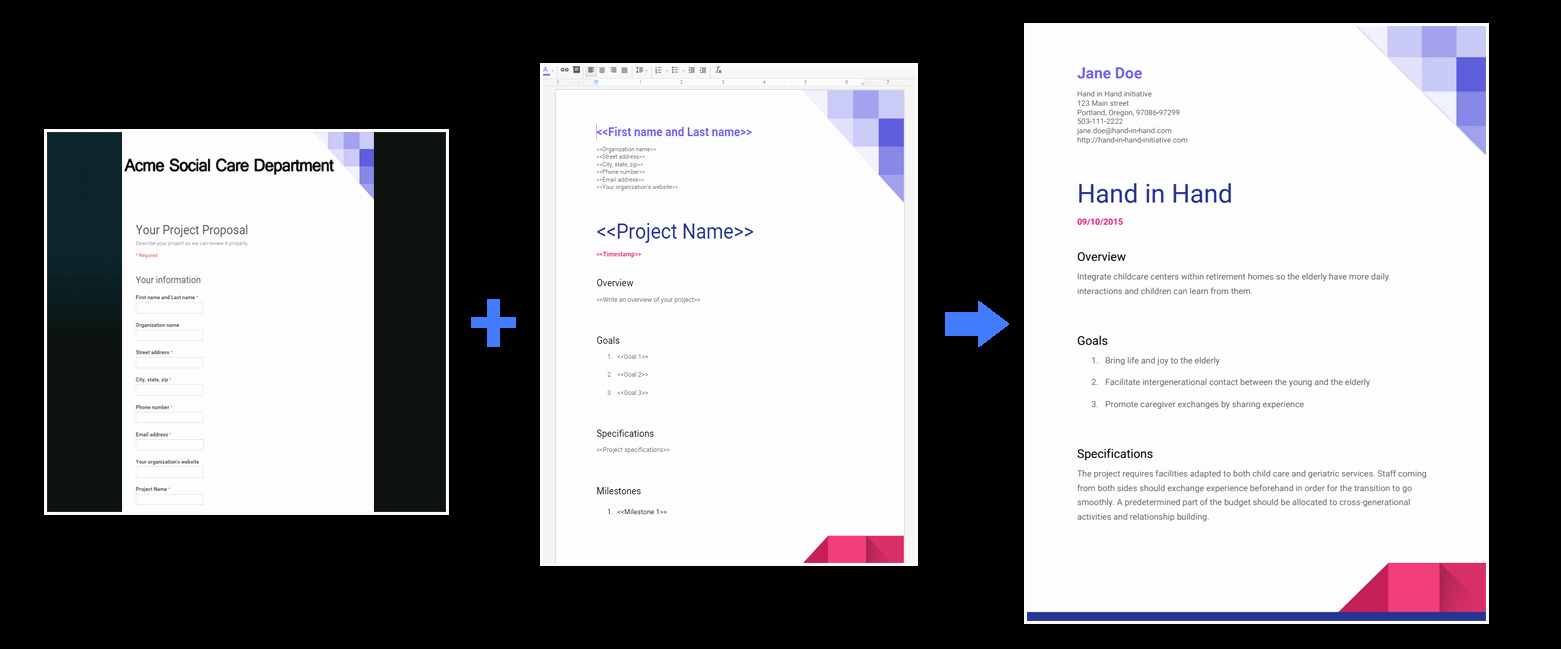 Proposal Template Google Docs New Use form Publisher with New Google Sheets Google Docs