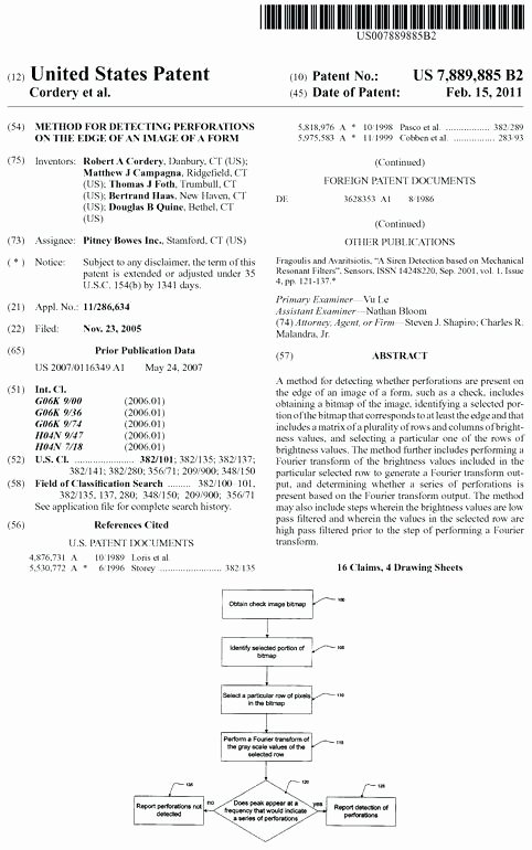 Provisional Patent Application Template Unique Us Patent form Utility Application Template Non