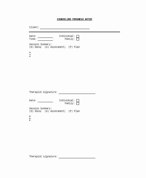 Psychotherapy Progress Note Template Elegant Free Case Note Templates Sample Notes Template Appendix