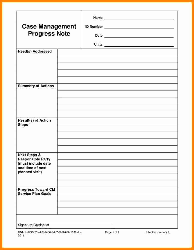 6 psychotherapy progress note template
