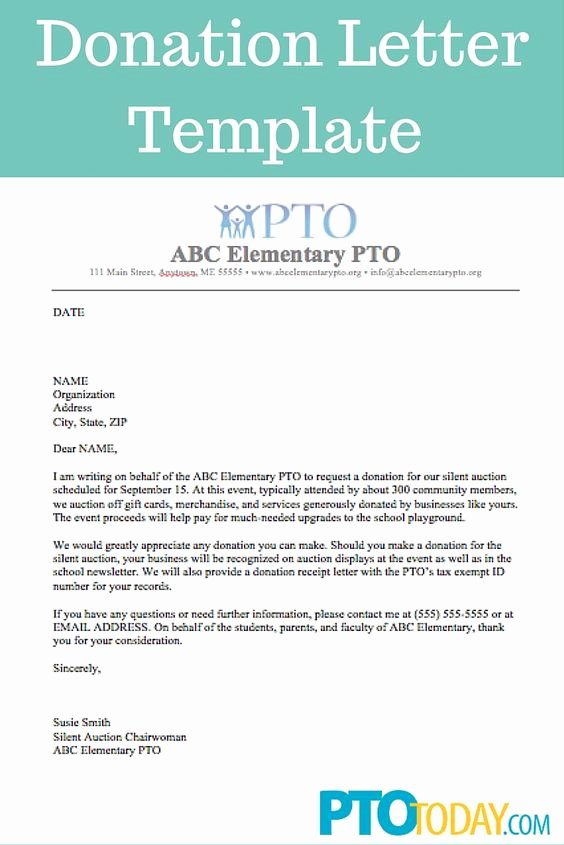 Pto Request form Template Unique Use This Template to Send Out Requests for Donations to