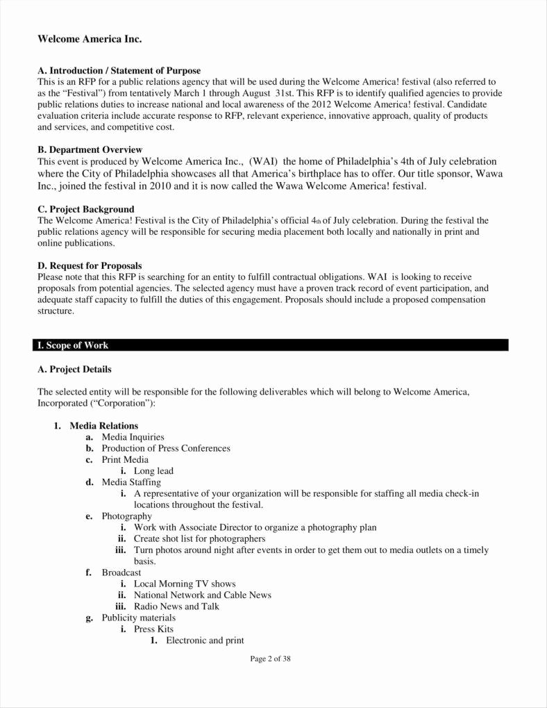 Public Relations Plan Template Elegant 10 Public Relations Proposal Templates Free Pdf Doc