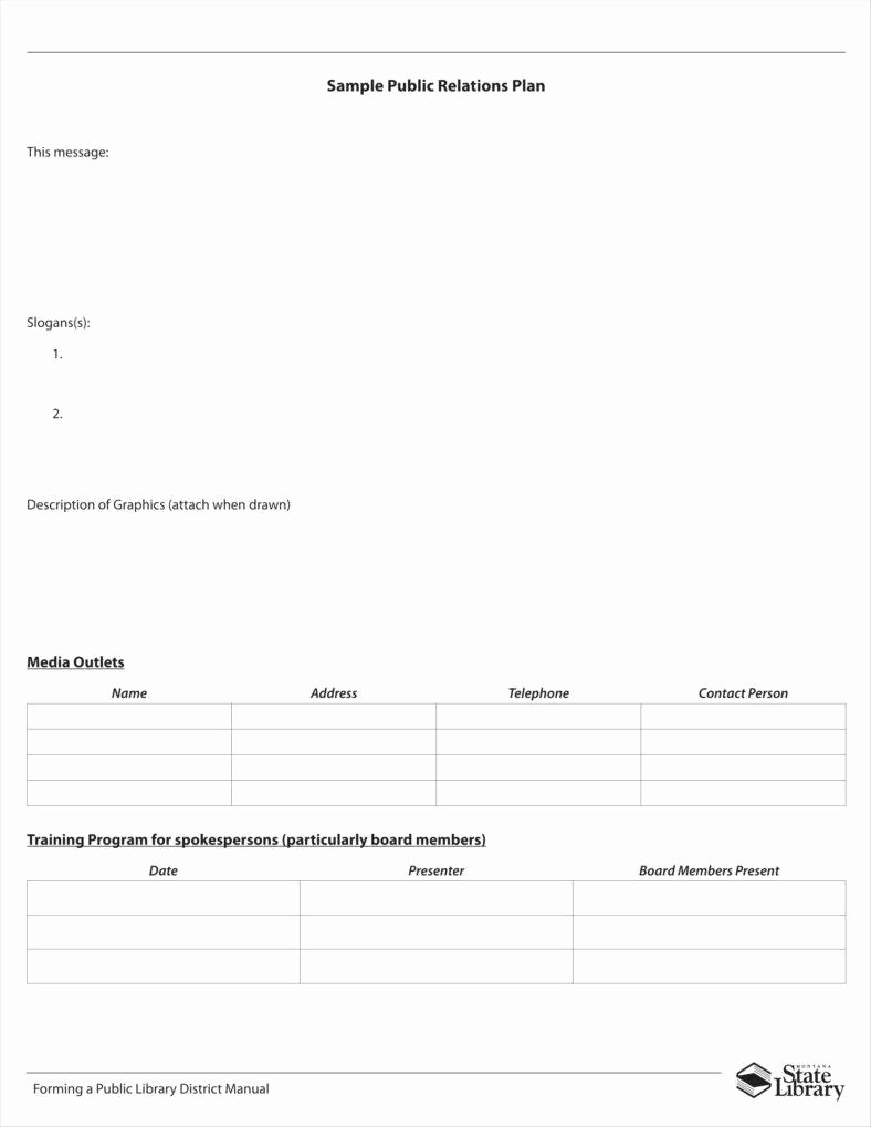 Public Relations Plan Template Unique 10 Public Relations Proposal Templates Free Pdf Doc