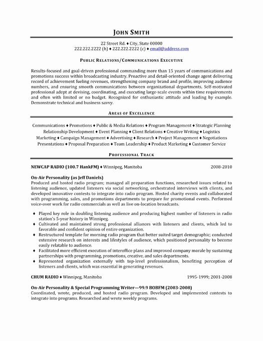 Public Relations Resume Template Fresh Best 25 Career Objective Examples Ideas On Pinterest