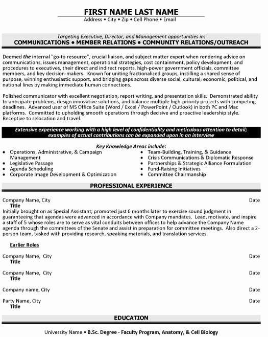 Public Relations Resume Template Fresh top Public Relations Resume Templates & Samples