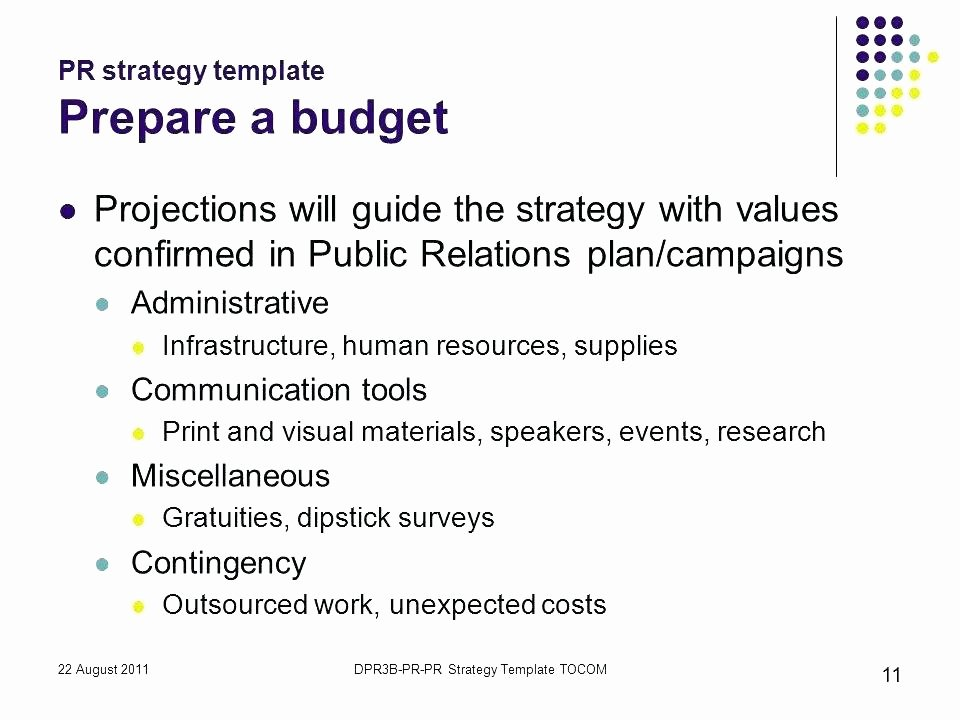 Public Relations Strategy Template Inspirational Pr Campaign Template Public Relations Plan Example E