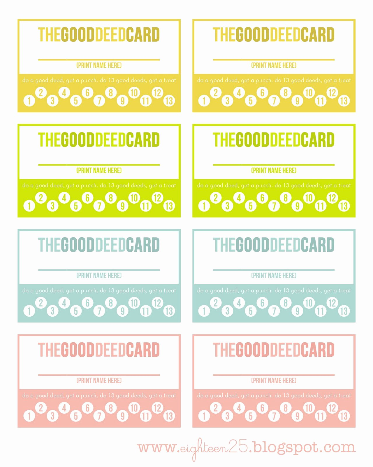 Punch Card Template Free Beautiful 9 Best Of Printable Punch Cards Free Printable