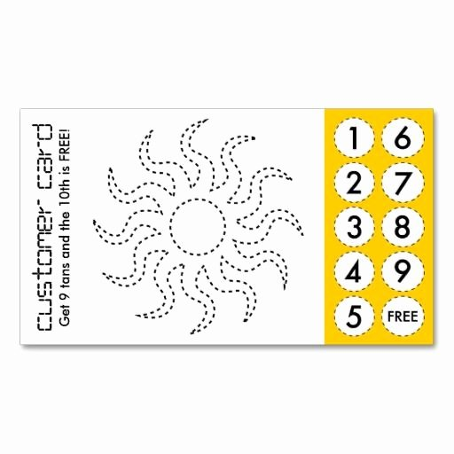Punch Cards Template Free Awesome 67 Best Images About Customer Loyalty Business Cards On