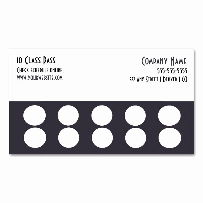 Punch Cards Template Free Beautiful 1570 Best Customer Loyalty Card Templates Images On