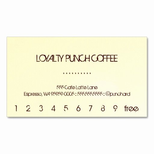 Punch Cards Template Free Fresh Best S Of Punch Card Template Word Free Printable