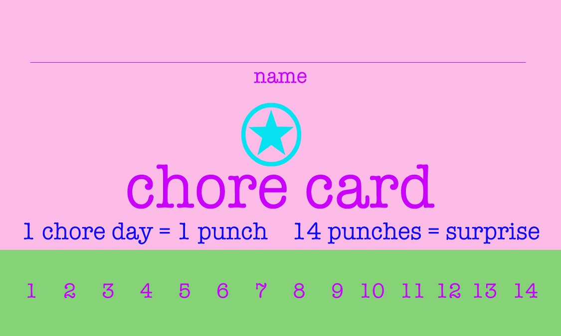 Punch Cards Template Free New 9 Best Of Printable Punch Cards Free Printable