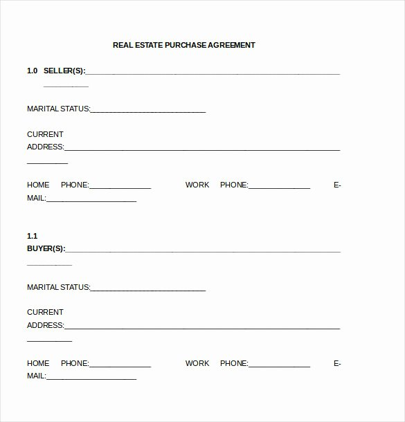 Purchase Agreement Template Word Inspirational Purchase Agreement Template – 17 Free Word Pdf Document