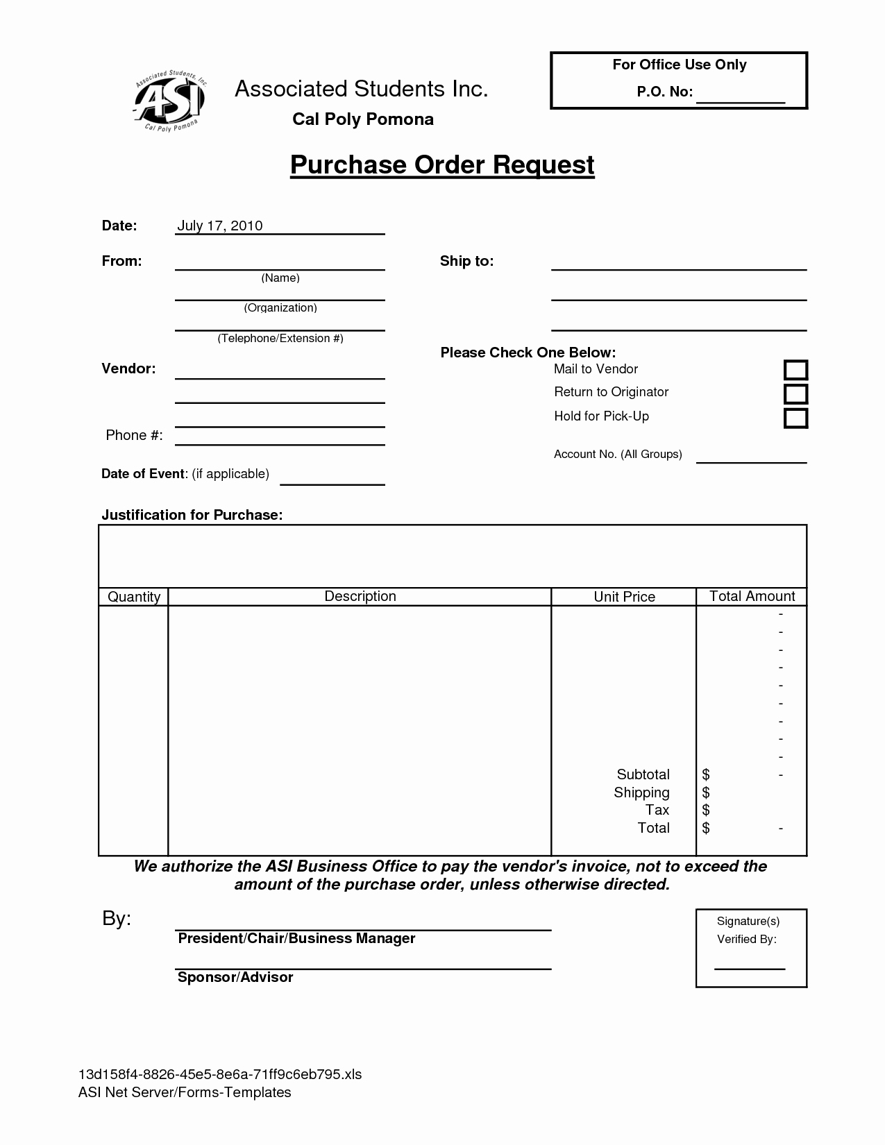 Purchase Request form Template Awesome Best S Of Purchase Request form Template Excel
