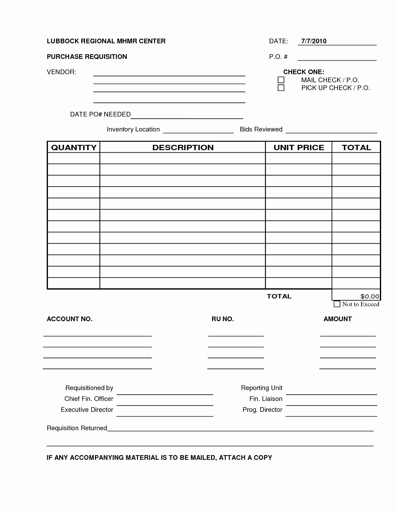 Purchase Requisition form Template Elegant 6 Best S Of Excel Purchase Requisition form Template