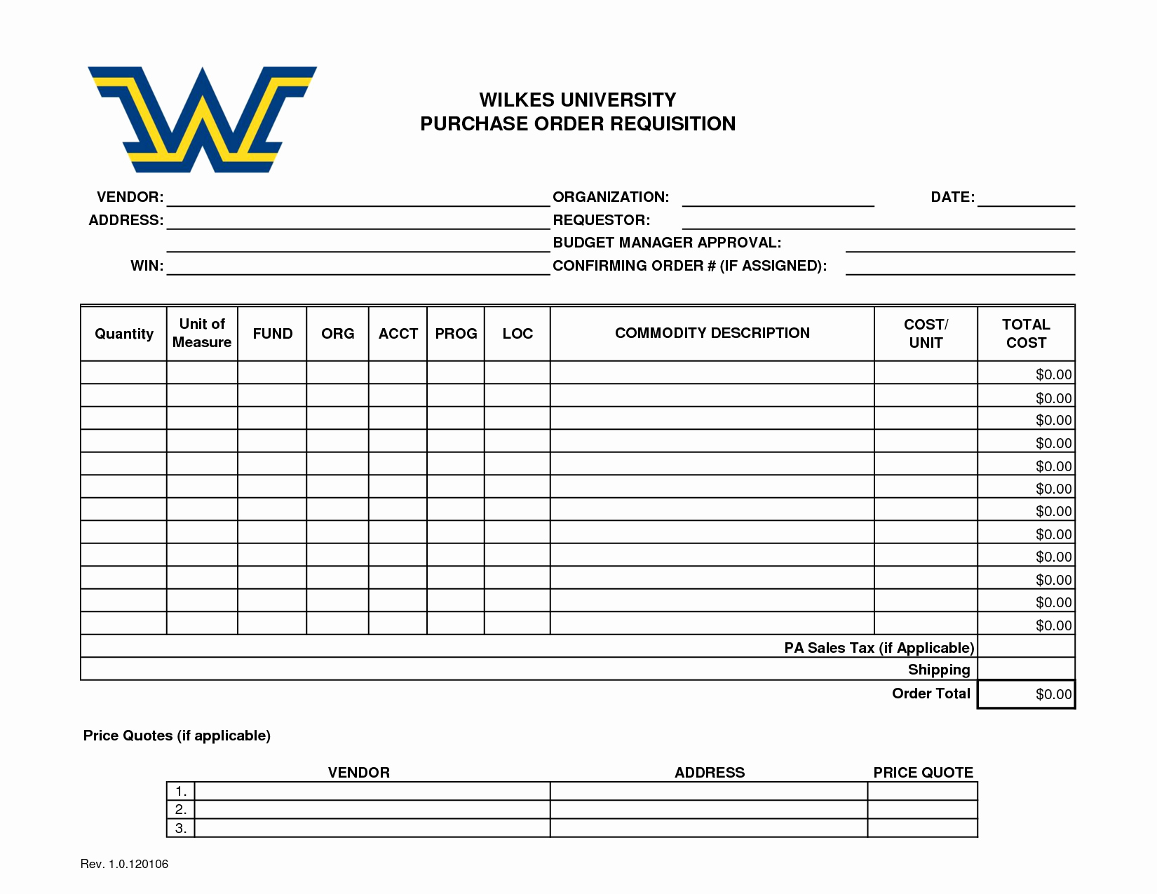 Purchase Requisition form Template Elegant the Gallery for Purchase order Request Template