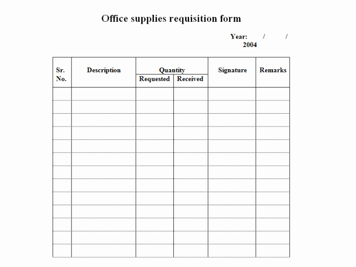 Purchase Requisition forms Template Lovely 4 Requisition form Templates Excel Xlts