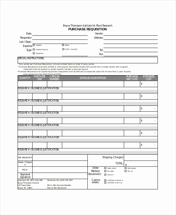 Purchasing Request form Template Lovely Excel form Template 6 Free Excel Document Downloads