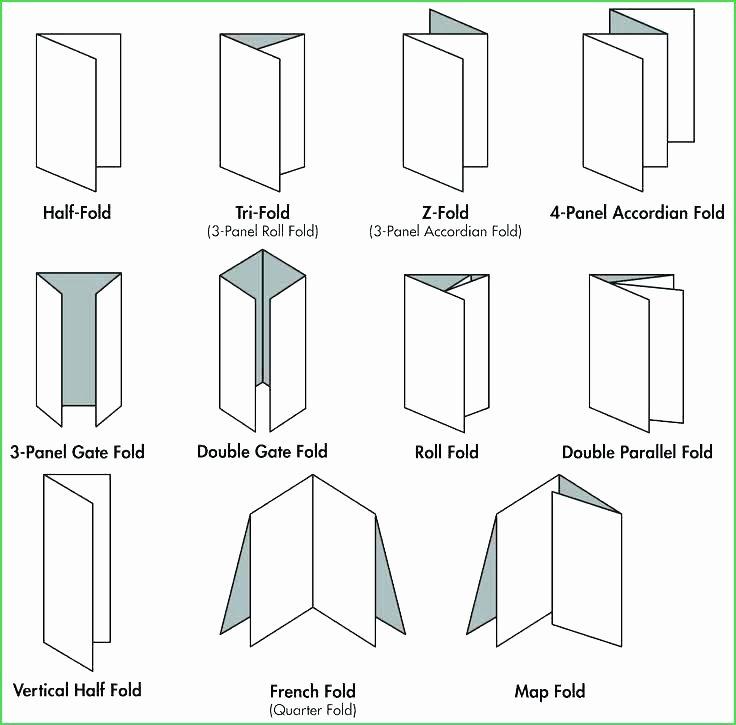 Quad Fold Brochure Template Beautiful Accordion Fold Brochure Template Cards Invitations Quad
