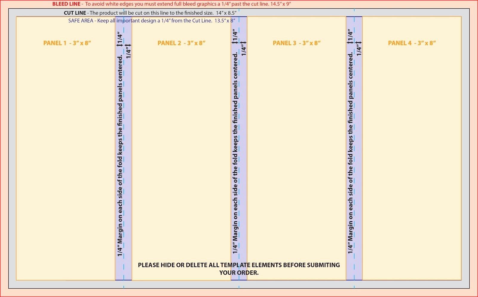 Quad Fold Brochure Template Best Of 50 Inspirational 11x17 Half Fold Brochure Template