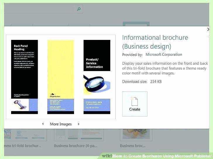 Quad Fold Brochure Template Elegant Four Fold Brochure Template 4 Fold Brochure Template Word