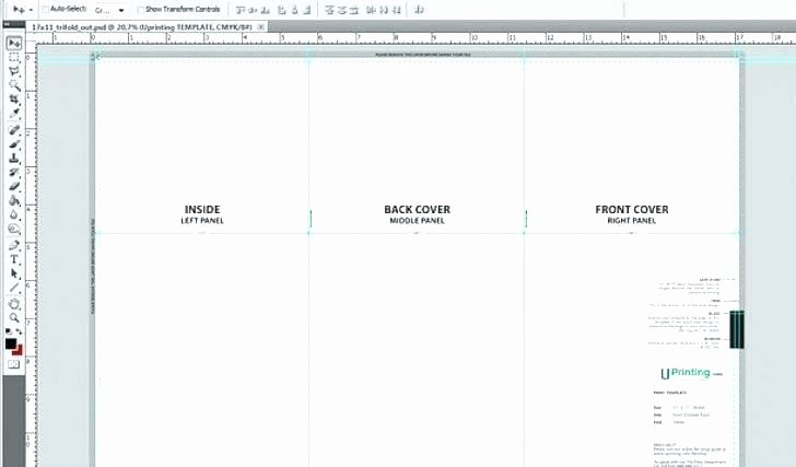 Quad Fold Brochure Template Inspirational Four Fold Brochure Template Illustrator X Fresh Cool Quad