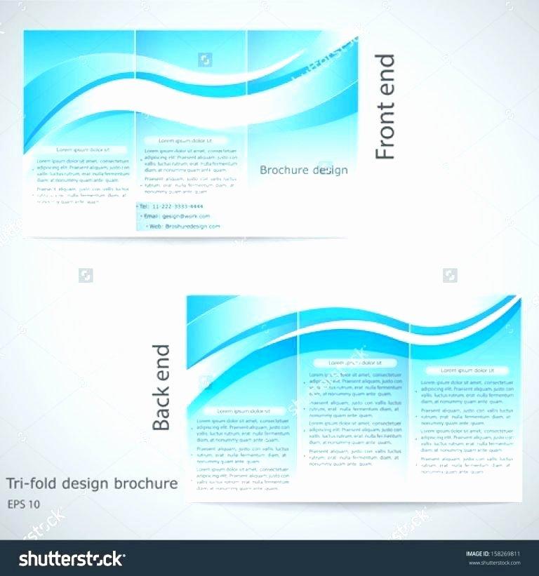 Quad Fold Brochure Template Inspirational X Brochure Template Accordion Fold Brochure Accordion Fold