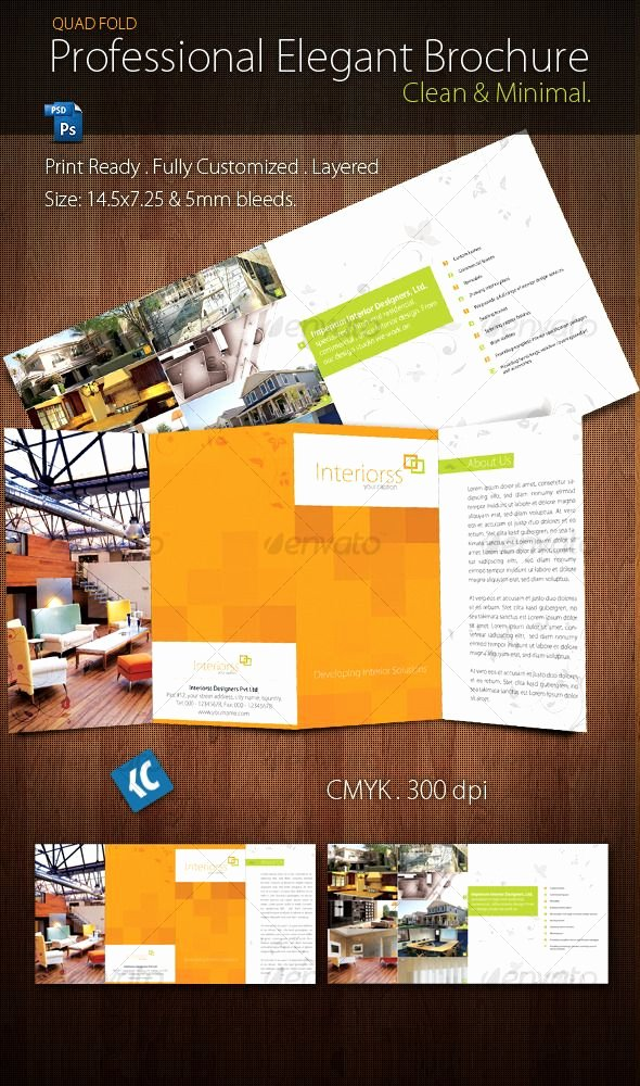 Quad Fold Brochure Template Luxury 17 Best Images About Brochures On Pinterest