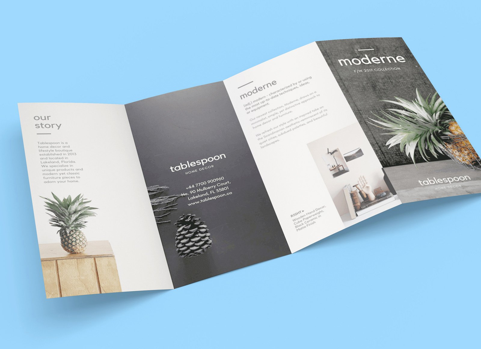 Quad Fold Brochure Template New Free 4 Panel Quad Fold Brochure Mockup Psd Good Mockups