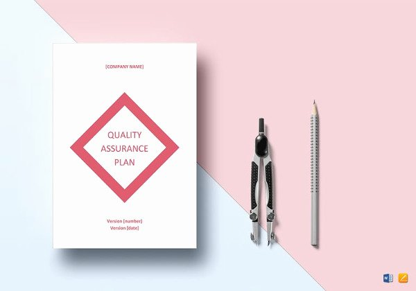 Quality assurance Plans Template Fresh 7 Quality Control Plan Template Word Pdf