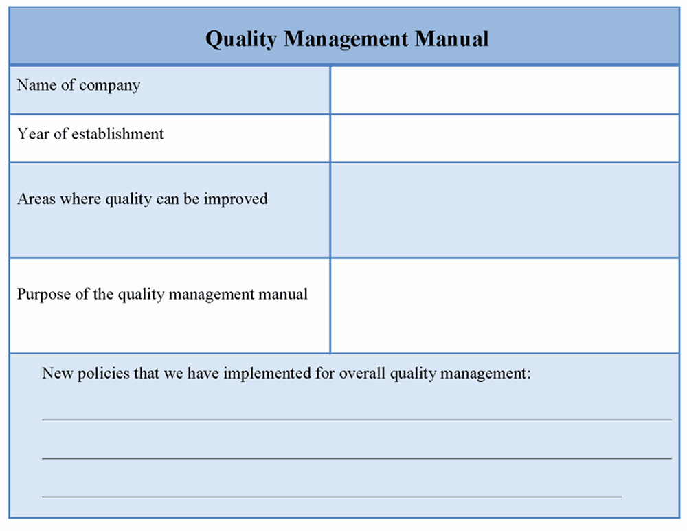 Quality Management Plan Template Unique Free Quality Control form Templates Movie Search Engine