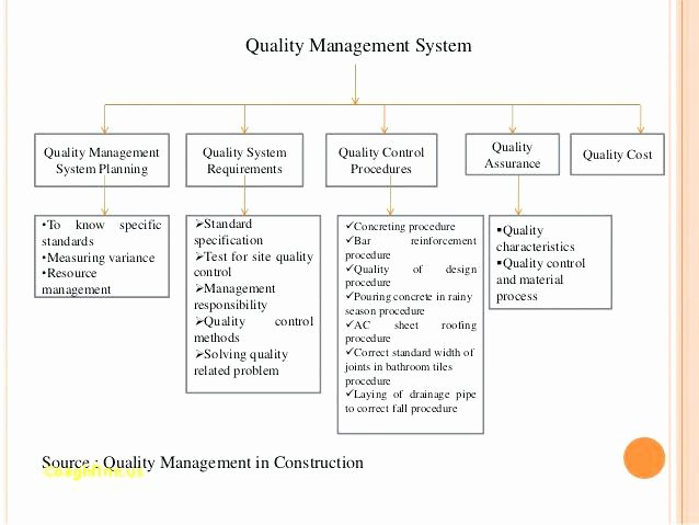 Quality Management System Template Awesome 11 Quality Management Plan Examples Pdf Word