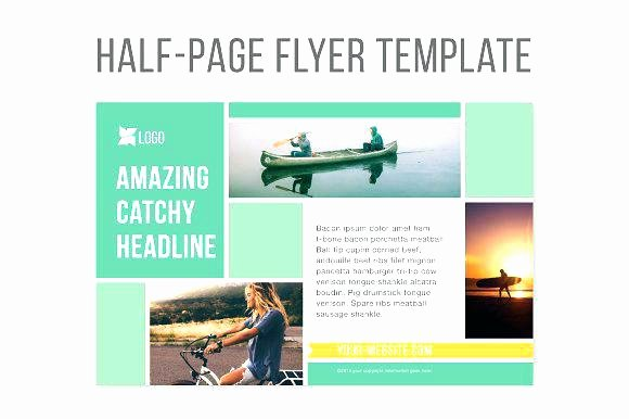 Quarter Page Ad Template Inspirational Create Half Page Flyers Quarter Blog 2 Flyer Template Word