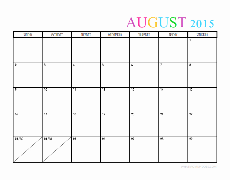 Quarterly Calendar Template 2015 New 2015 Monthly Calendar Templates