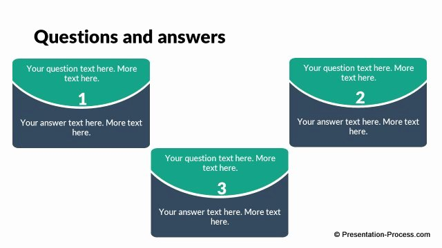Question and Answer Template Unique Flat Design Templates Powerpoint Closing Slides