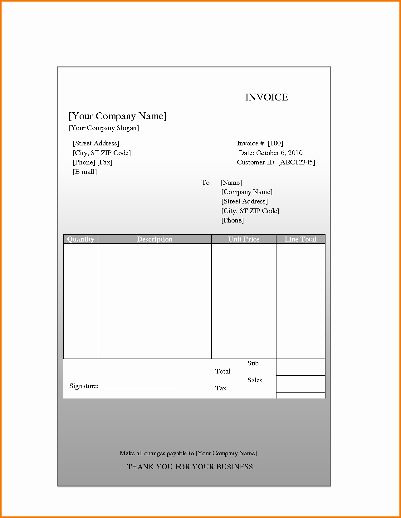 Quickbooks Check Template Word Awesome Quickbooks Invoice Templates Spreadsheet Templates for