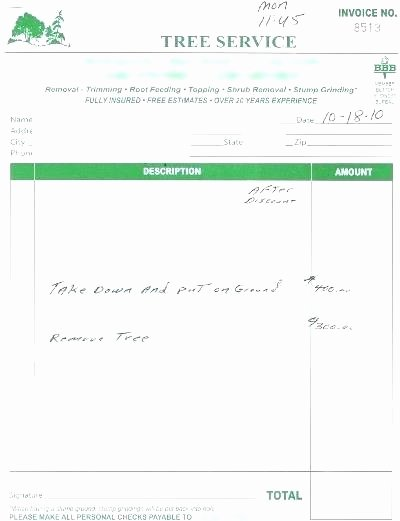 Quote Template Google Docs New Tree Removal Quote Template – Suryoyefo