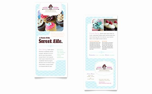 Rack Card Template Word Beautiful Free Rack Card Template Microsoft Word & Publisher