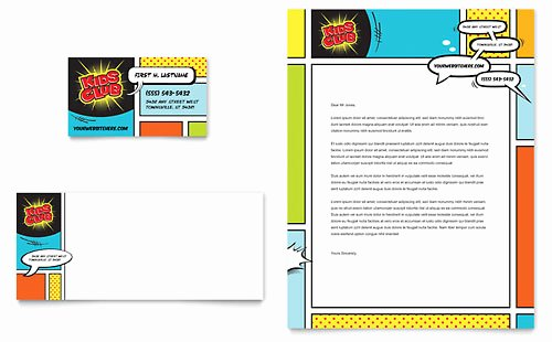 Rack Card Template Word Best Of Kids Club Rack Card Template Design