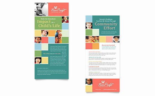 Rack Card Template Word Luxury Rack Card Templates Indesign Illustrator Publisher Word